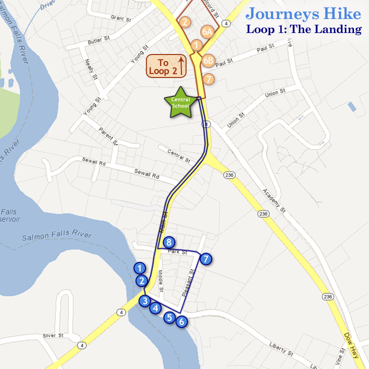 Journeys Hike: Loop 1