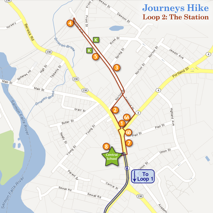 Journeys Hike Map: Loop 2