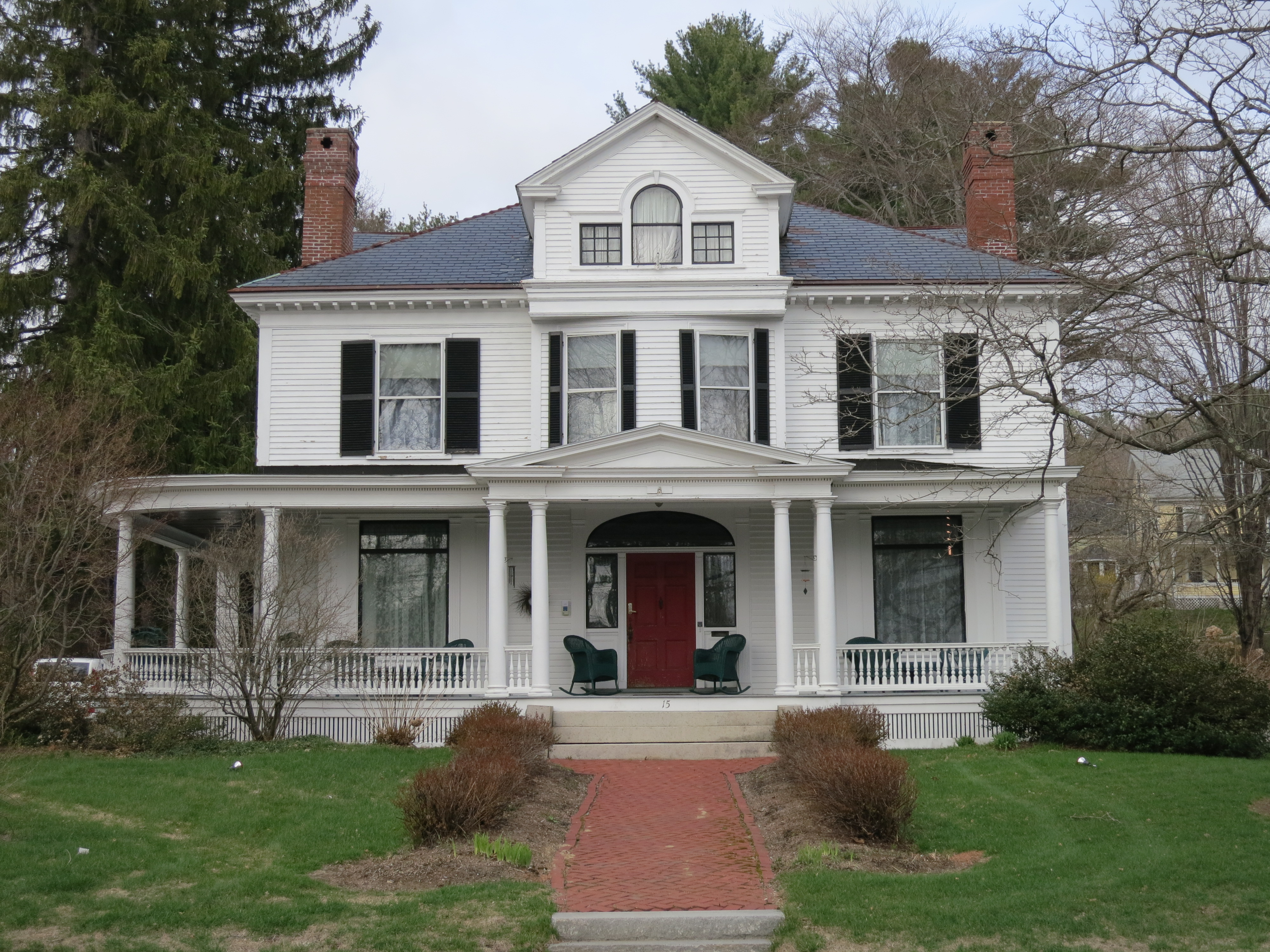 Home of George C. Yeaton, lawyer