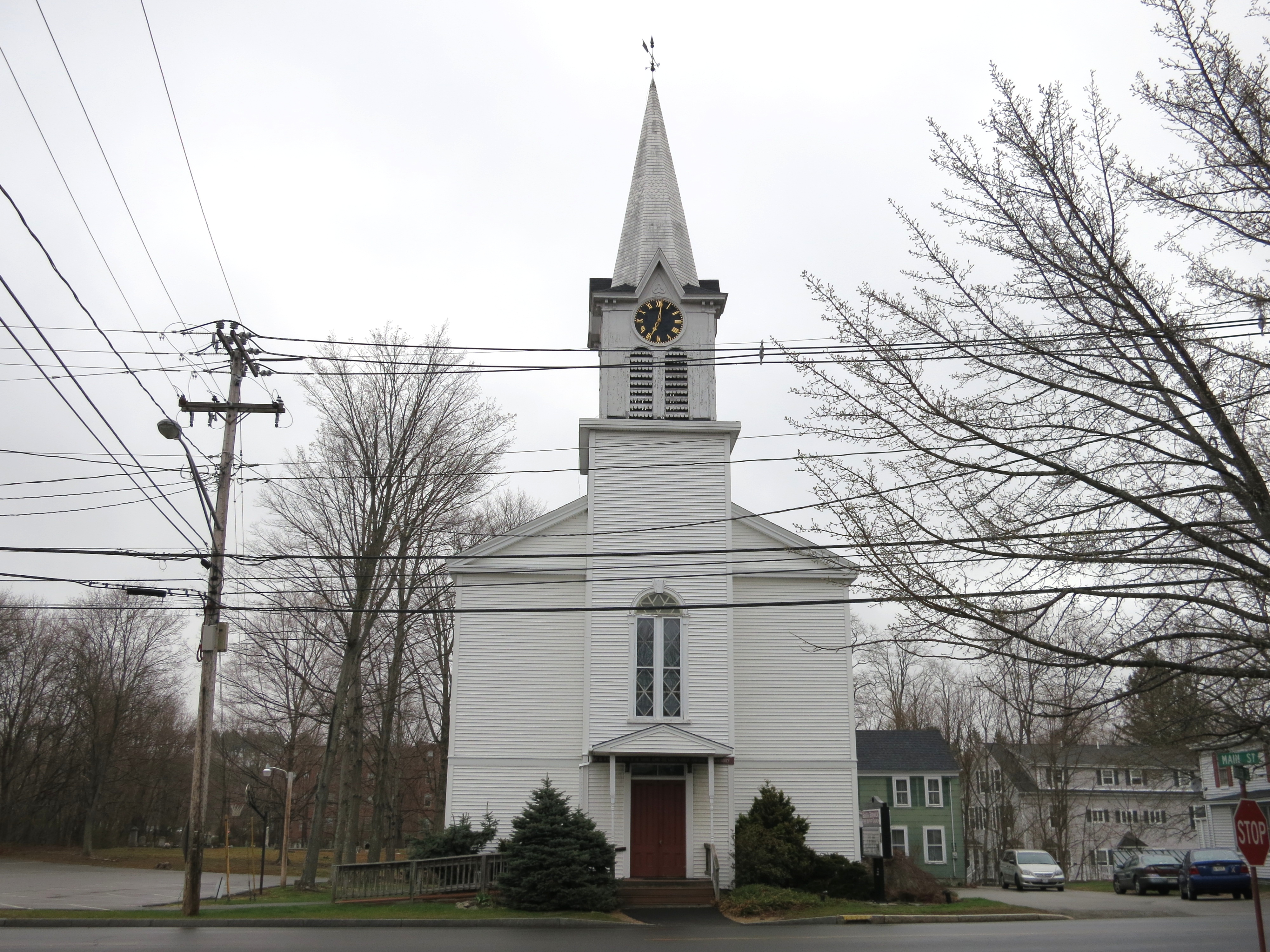 Church of minister William E. Hayden
