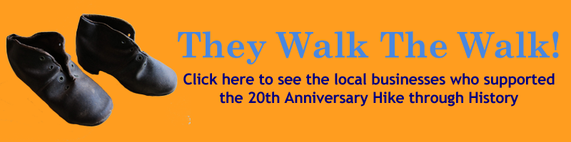 They Walk The Walk: Check out the 2014 Hike Through History Sponsors